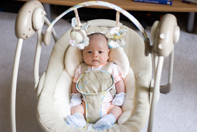 Boppy Rock in Comfort Travel Swing