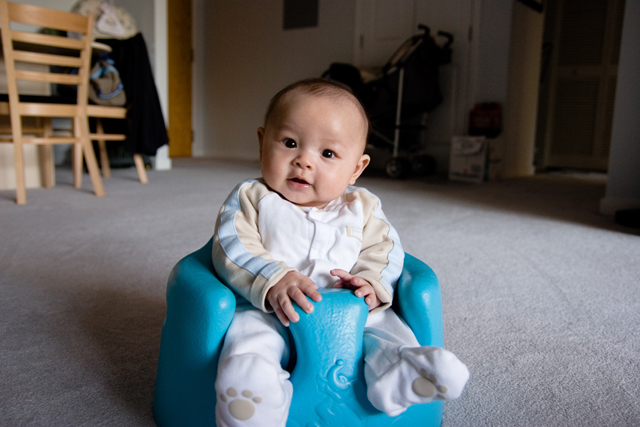 Bumbo Baby Sitter - Blue