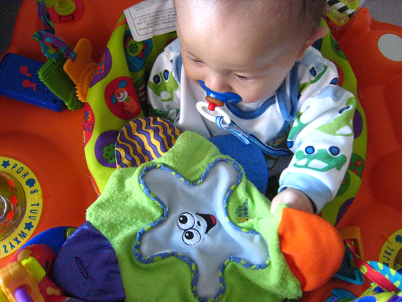 Teething Blanket by Learning Curve